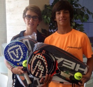 Íñigo Jofre y Diego Torres, campeones en Madrid. / DA