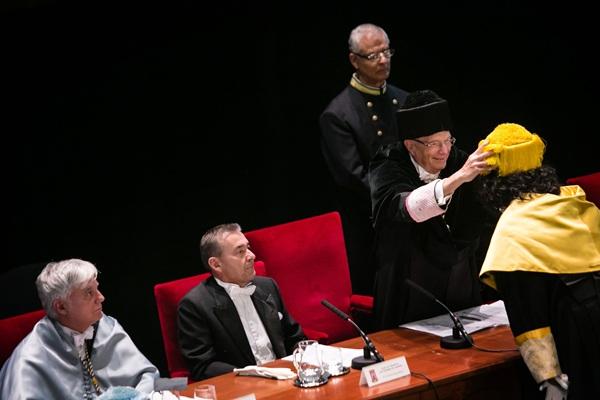 Acto oficial de apertura del curso. / ANDRÉS GUTIÉRREZ