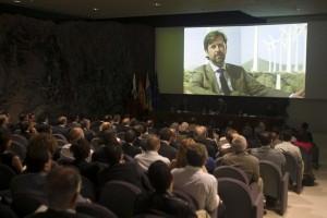 El presidente de la Corporación expuso el proyecto Alix a periodistas estadounidenses. / DA