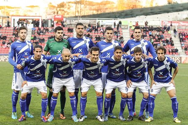 De esta formación en Girona hace nueve meses, solo Aridane y Rául Cámara podrían repetir en el encuentro de mañana. /EDDY KELELE