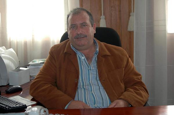 Faustino Alegría (CC) fue alcalde del municipio. / DA