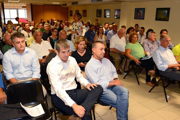 Consejo Político Nacional de CC, el viernes 12. / SERGIO MÉNDEZ