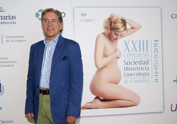 El doctor Isidoro Bruna, antes de su participación en el Congreso de Ginecología la semana pasada. / DA