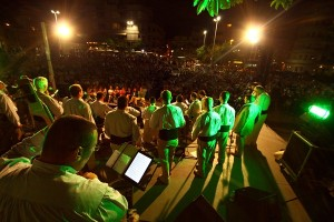 El concierto ofrecido por Los Gofiones cerró el verano cultural de El Médano. / DA