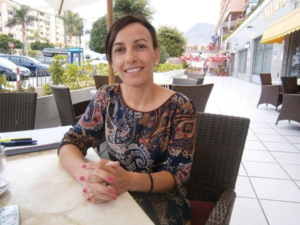 Olivia Delgado, portavoz socialista de la oposición