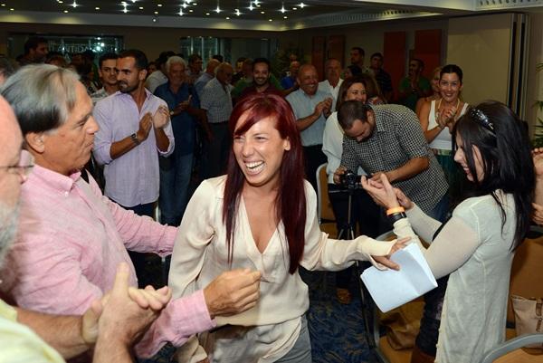 Patricia Hernández, el poder de la sonrisa y el valor de las ideas. / SERGIO MÉNDEZ