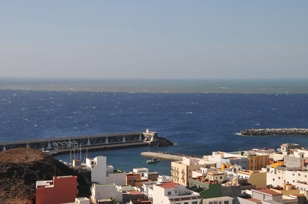 Puerto de La Restinga, el segundo de importancia en la Isla de El Hierro. / DA