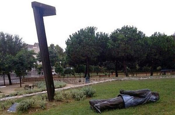 Estatua de Jordi Pujol. / NACIÓ DIGITAL - CEDIDA