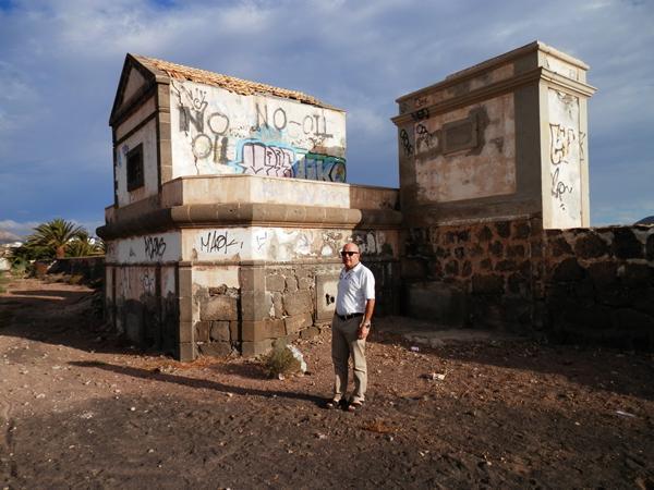 Antonio Gámez, guía turístico. / V. P.
