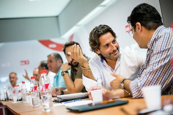 Gustavo Matos da un paso al frente en el camino hacia la presidencia del Gobierno de Canarias. / ANDRÉS GUTIÉRREZ