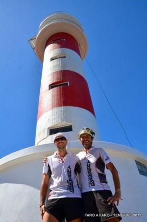 Marcelino Díaz y Eduardo López completaron el reto el año pasado. / FACEBOOK