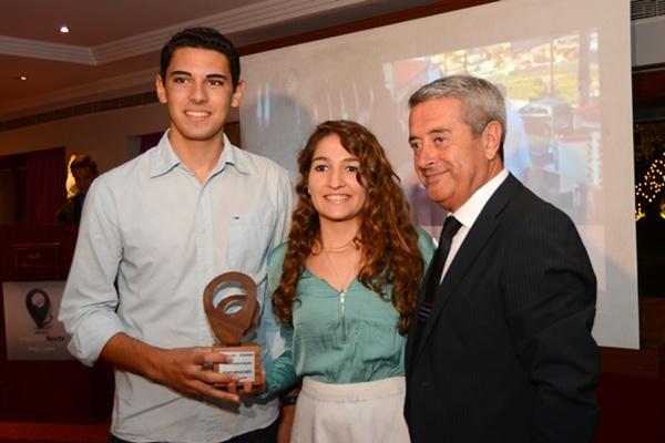 Alumnos de El Sauzal en Ruta, premio Proyecto Educativo. / S.M.