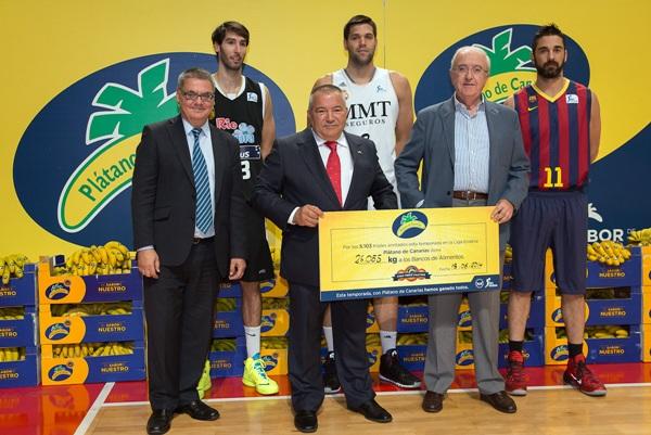 Plátano de Canarias está comprometida con la solidaridad y con el medio ambiente. / DA