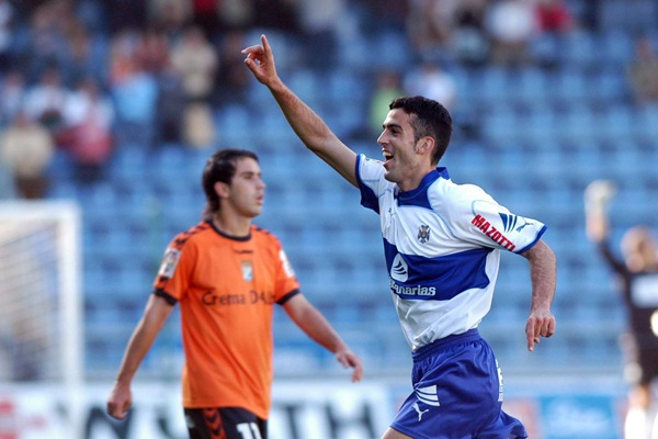 Un joven Ricardo, en la campaña de su debut con el primer equipo blanquiazul (2005-2006). / SERGIO MÉNDEZ