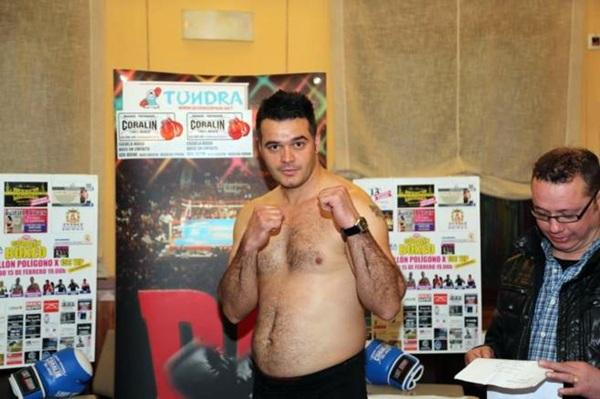 Roberto Larralde era una de las promesas del boxeo español. / REUTERS