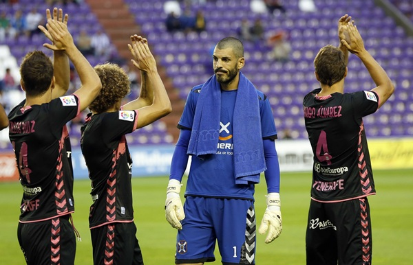 Jacobo tuvo buena parte de culpa en los dos goles que encajó. / RAMÓN GÓMEZ