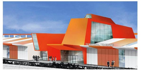 Macaronesia. La nueva terminal será de las más modernas de la Macaronesia al ser diseñada como una construcción de última generación con capacidad para atender a más de 4.500 cruceristas. /DA