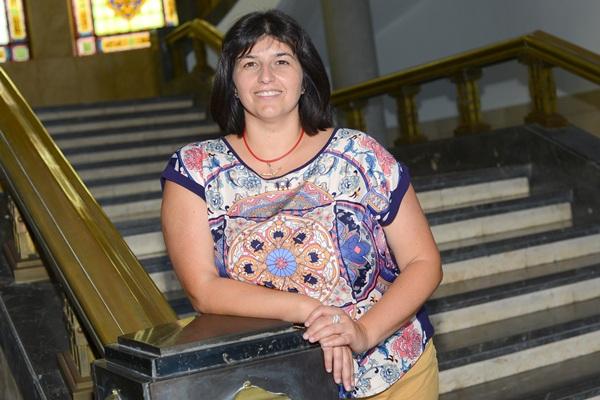 Miriam González Afonso, vicerrectora de alumnado de la universidad de                   la laguna (ULL). / SERGIO MÉNDEZ