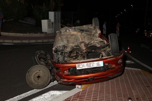 Foto del accidente.  / G. ZENOU