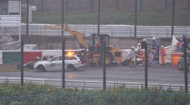 Accidente Bianchi GP Japon