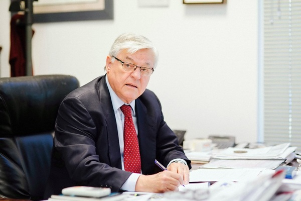 Juan García Padrón, alma mater del Grupo Autoinsular. / DA