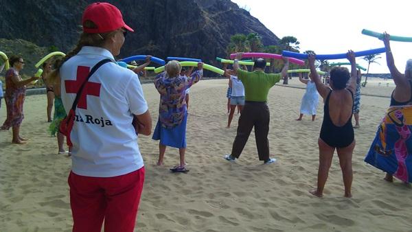 Los participantes pudieron disfrutar de actividades de fomento de hábitos de vida saludable. / DA
