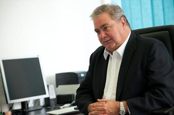 Henry Sicilia, presidente de la Asociación de Agricultores y Ganaderos de Canarias (Asaga). / FRAN PALLERO