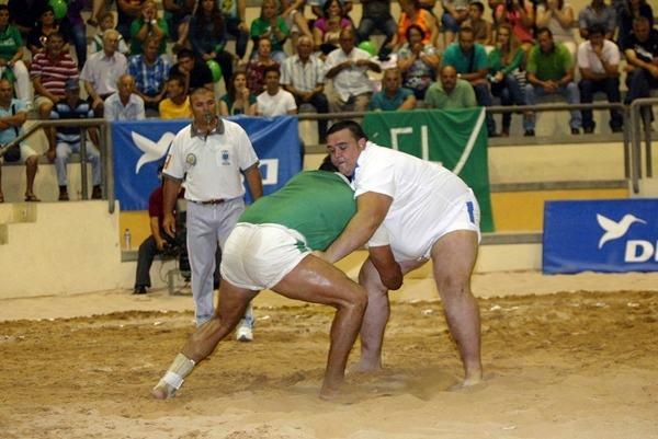 'Fafi' Martín luchó el pasado domingo con el Candelaria de Mirca. / DA