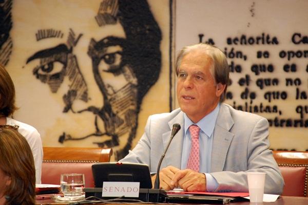 José Vicente González Bethencourt, senador del PSOE por Tenerife. / DA