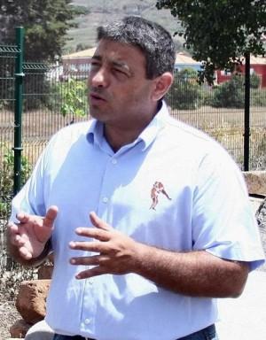 Germán Rodríguez, presidente de la Federación Canaria de Lucha. | DA