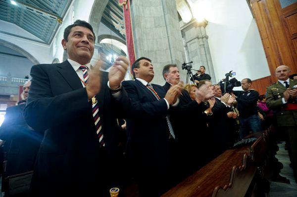 José Gumersindo García lleva gobernando Candelaria desde 2001 y renunciará a seguir haciéndolo, como casi todo su grupo, a partir del 24-M. / F.P.