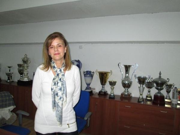 La empresaria madrileña lleva cinco años al frente del Leganés. / DA