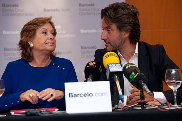 Paquita Luengo y Gustavo Matos, ayer en rueda de prensa. / FRAN PALLERO