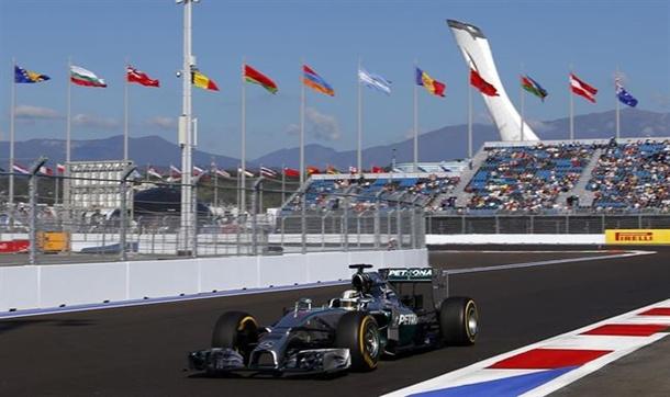 El piloto británico Lewis Hamilton (Mercedes)