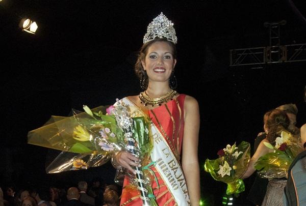 Arteaga fue elegida Reina de la Bajada en El Hierro en 2013. / DA