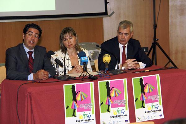 Martín, Waldhoff y Moujir presentaron Expocomercio 2014. / DA