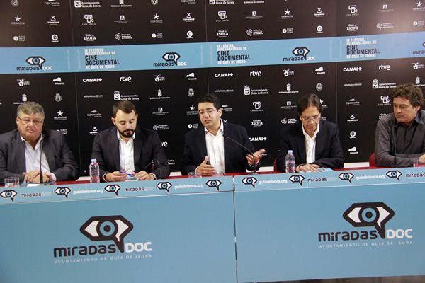 Delgado, Gutiérrez, Martín, De la Rosa y Krawietz coincidieron en la necesidad de garantizar económicamente la muestra isorana. /DA