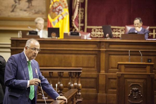 El consejero Francisco Hernández Spínola. / ANDRÉS GUTIÉRREZ