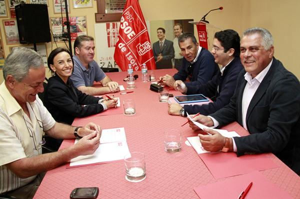 Algunos de los alcaldes socialistas del Sur de la Isla. | DA