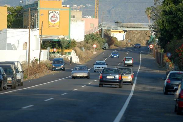 La zona que se encuentra sin alumbrado público desde hace siete días va desde la rotonda de La Vera hasta la altura de la arepera La Carajita. / M.P.P.