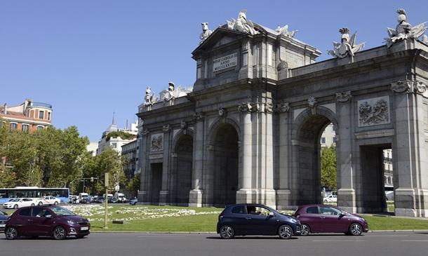 Peugeot 108 en Madrid