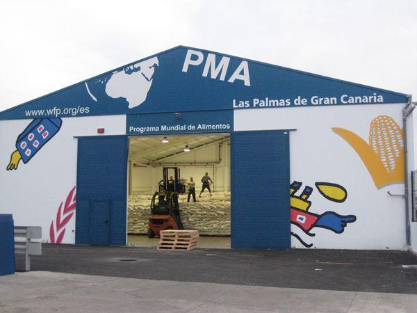 Programa Mundial de Alimentos en Las Palmas