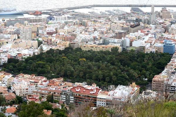 Las calles propuestas en esta prueba piloto son del casco de Santa Cruz. / SERGIO MÉNDEZ