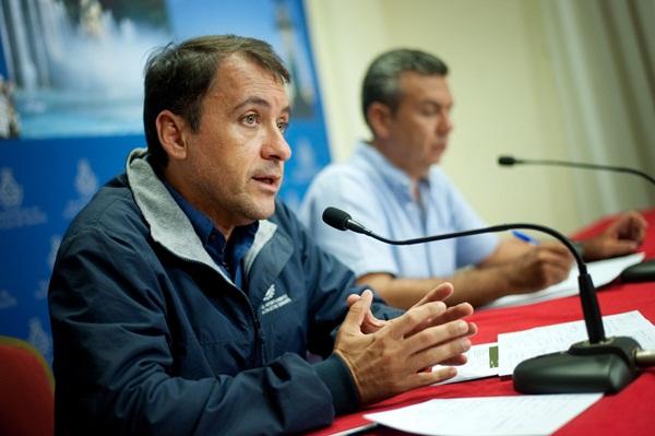 José Manuel Bermúdez y Dámaso Arteaga. / F.P.