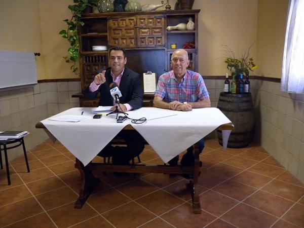 Fuentes y Barrios piden una comisión de investigación para Antonio Sosa. / J.L.C.
