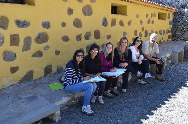 Estudiantes y profesorado de la ULL presentarán en el foro un proyecto sobre el albergue de Vilaflor. / DA