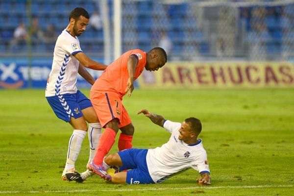 Vitolo hizo un gran partido ante el Barcelona B el pasado domingo. / SERGIO MÉNDEZ