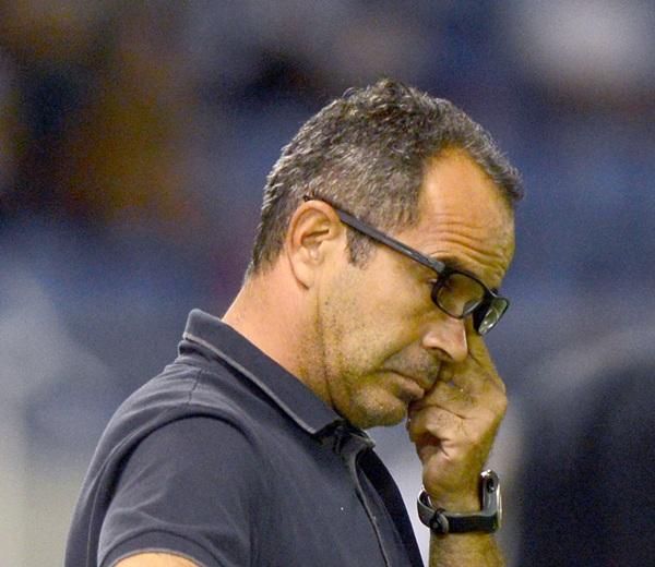 Álvaro Cervera, durante el partido del pasado fin de semana. / SERGIO MÉNDEZ