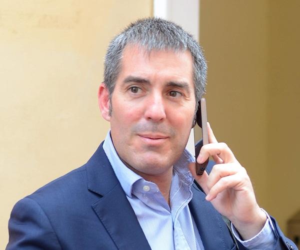 Fernando Clavijo, candidato de CC al Gobierno de Canarias. / S. MÉNDEZ