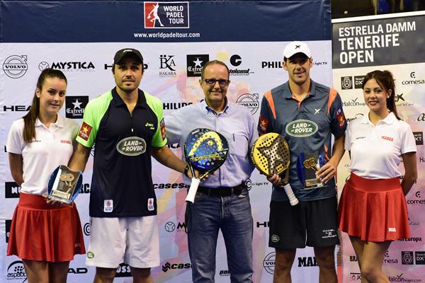 ganadores del World Padel Tour